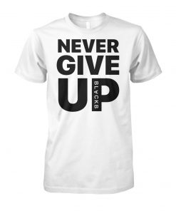 Mohamed salah never give up unisex cotton tee