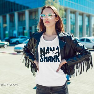 Mother's day nana shark shirt