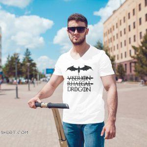 Not viserion not rhaegal drogon game of thrones shirt