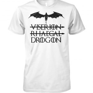Not viserion not rhaegal drogon game of thrones unisex cotton tee