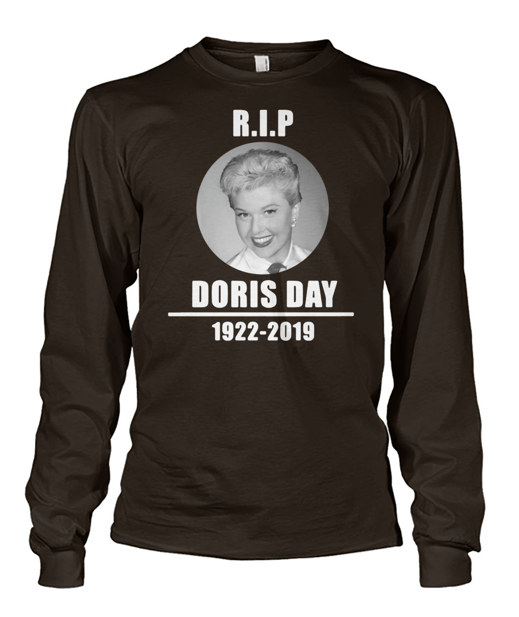 RIP doris day 1922 2019 unisex long sleeve