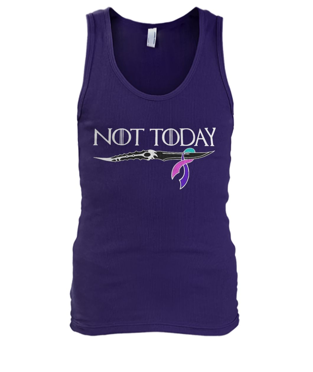 Thyroid cancer not today game of thrones men's tank top
