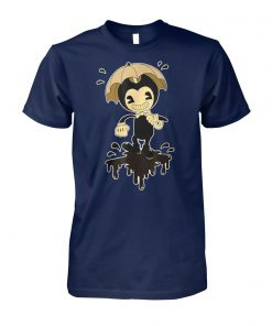 Video game inspired bendy and the ink machine unisex cotton tee