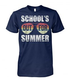 Vintage school's out for the summer unisex cotton tee