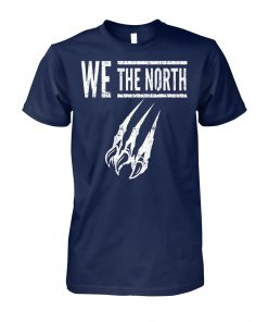 We the north canada raptors tribute unisex cotton tee