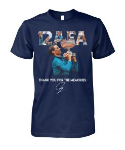 12 afa roland garros thank you for the memories signature unisex cotton tee
