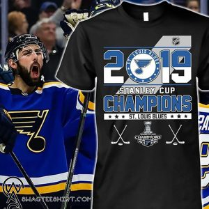 2019 st louis blues stanley cup champions shirt