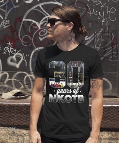 30 years of nkotb new kids on the block fan shirt