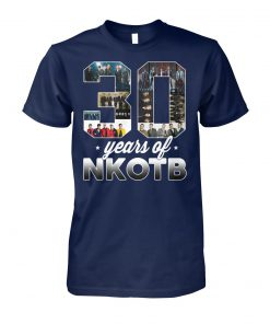 30 years of nkotb new kids on the block fan unisex cotton tee