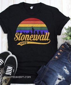 50th anniversary stonewall riots 50th nyc gay pride lbgtq rights shirt