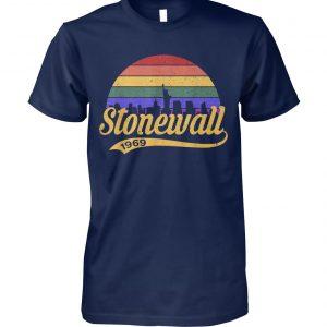 50th anniversary stonewall riots 50th nyc gay pride lbgtq rights unisex cotton tee