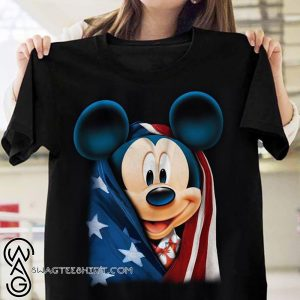 American flag mickey mouse 4th of july shirt