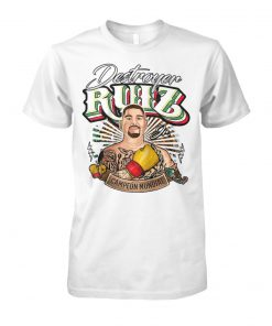 Andy Ruiz Jr the destroyer unisex cotton tee