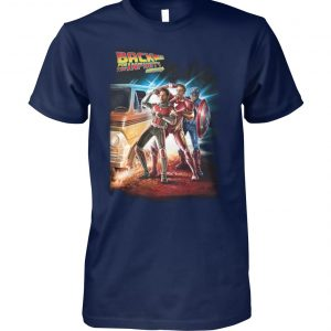 Avengers back for the infinity stones unisex cotton tee
