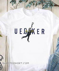 Bob uecker air jordan shirt