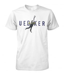 Bob uecker air jordan unisex cotton tee