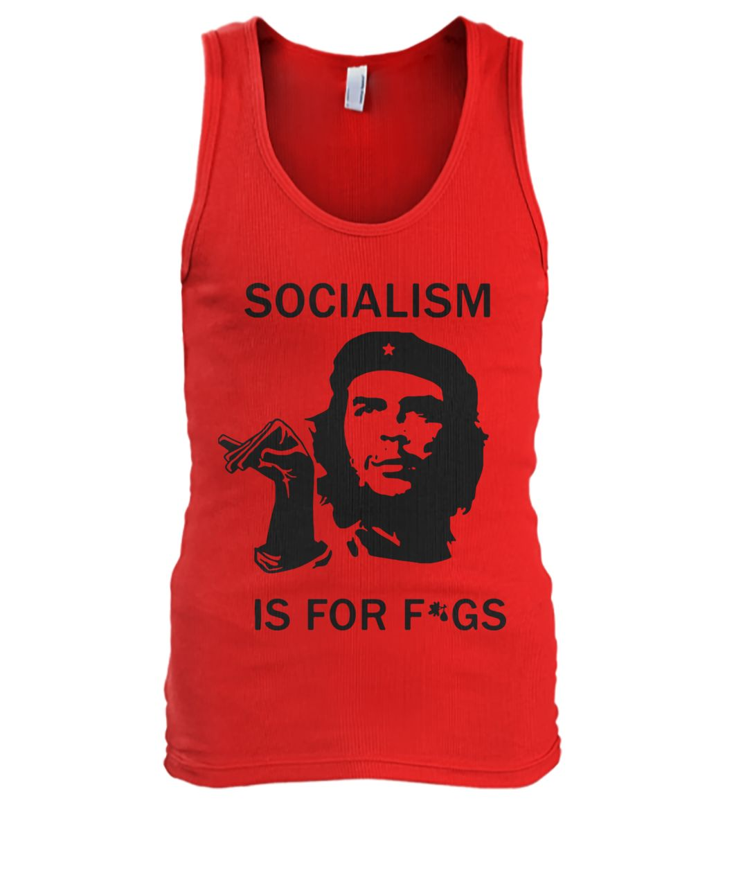 Che guevara socialism is for figs men's tank top