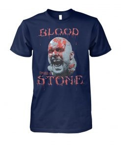 Cold steve austin bloody face blood from a stone unisex cotton tee