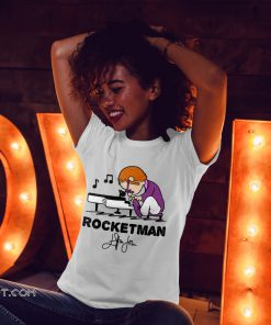 Elton john rocket man play piano shirt