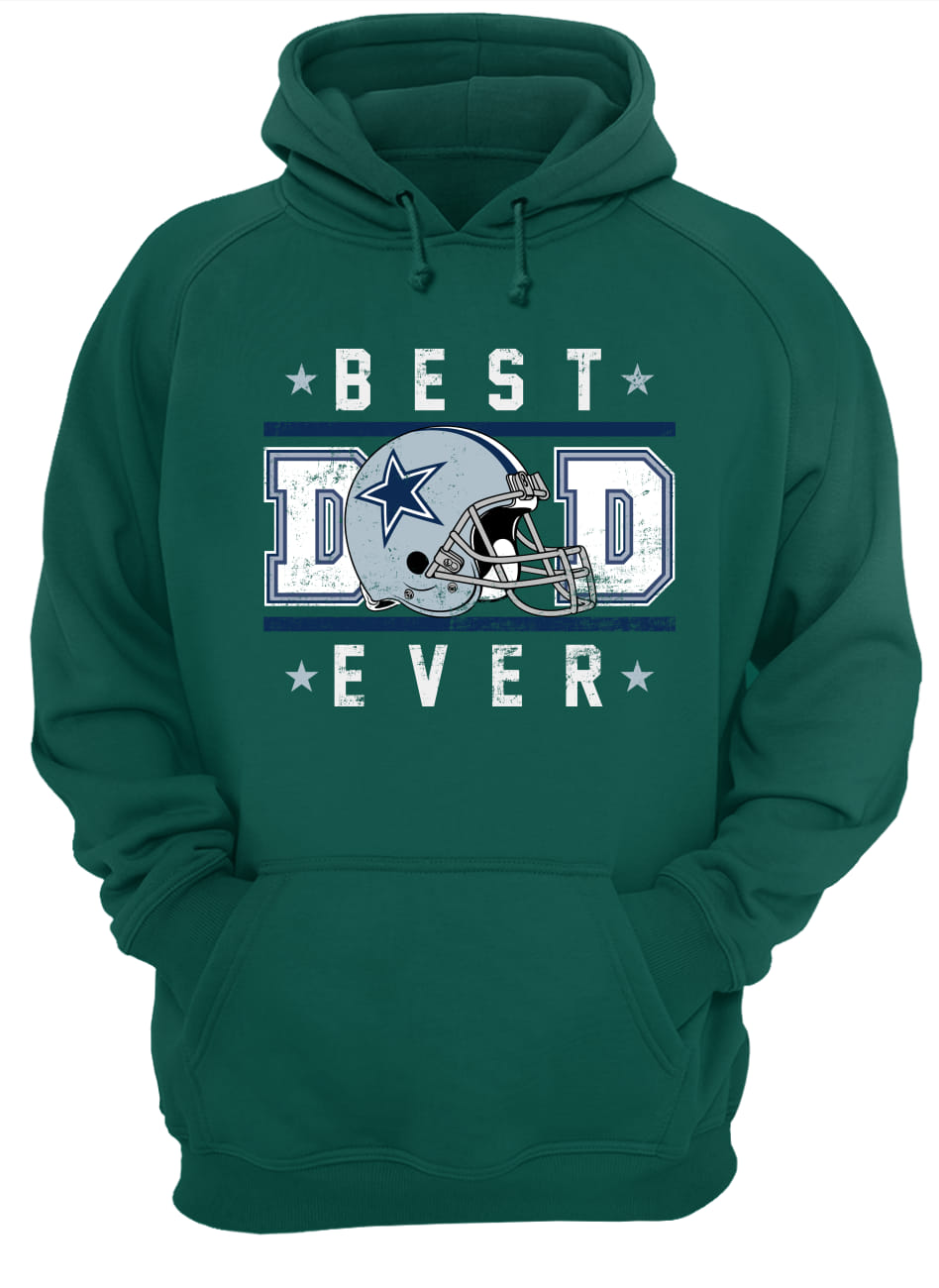 Father's day dallas cowboy best dad ever hoodie