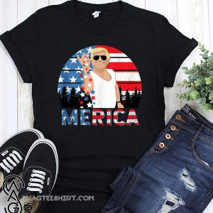 Fourth of july merica trump salt freedom shirt