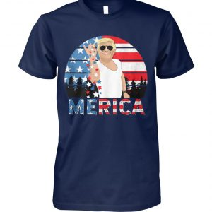 Fourth of july merica trump salt freedom unisex cotton tee