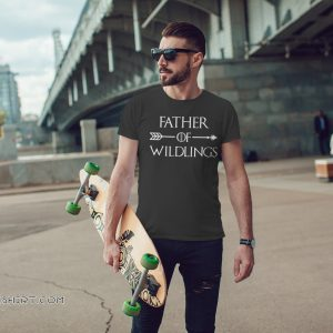 Game of thrones father of wildlings shirt