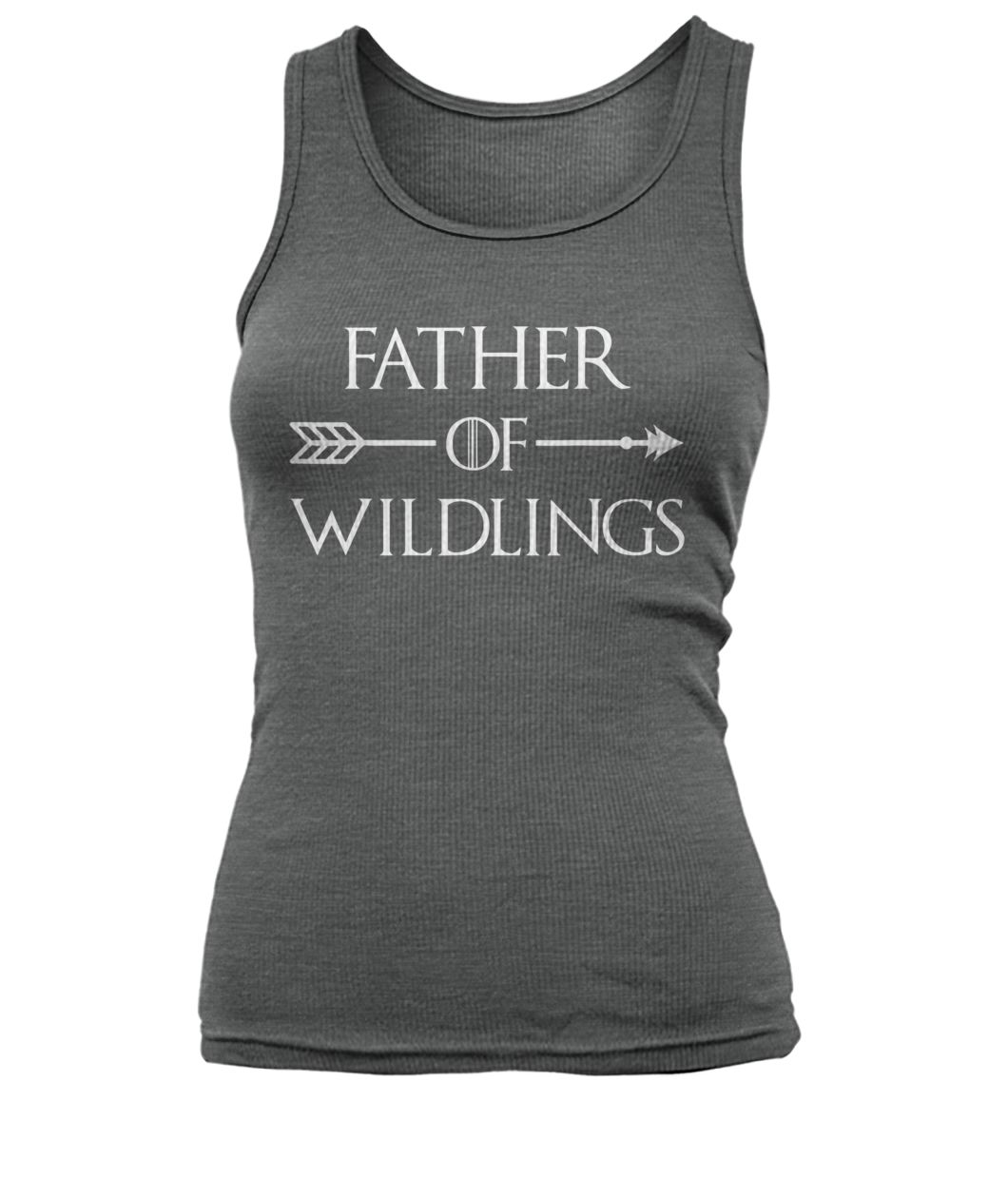 Game of thrones father of wildlings women's tank top