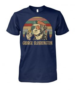 George sloshington vintage unisex cotton tee