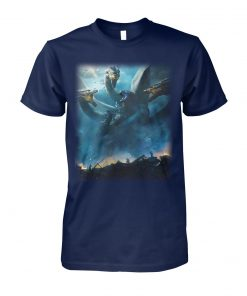 Godzilla 2 king of monsters poster unisex cotton tee