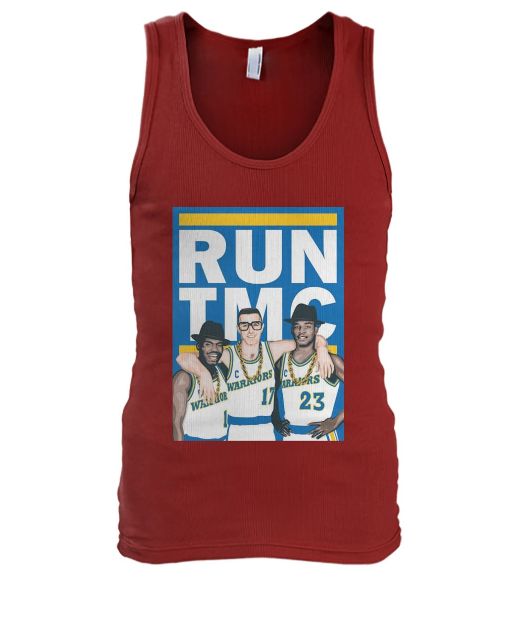 Golden state warriors RUN TMC men's tank top