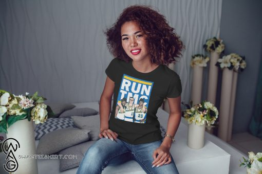 Golden state warriors RUN TMC shirt