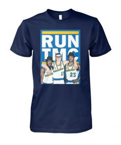 Golden state warriors RUN TMC unisex cotton tee