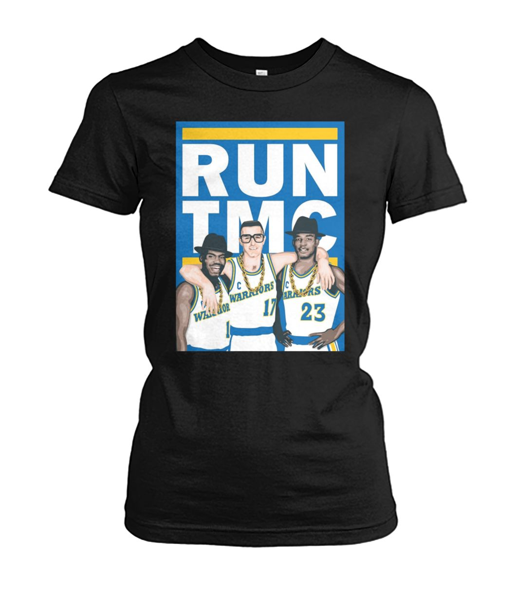 Golden state warriors RUN TMC women's crew tee