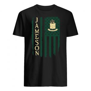 Jameson american flag guy shirt