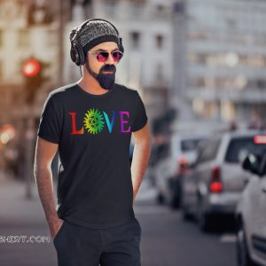 Love pride gay LGBT shirt
