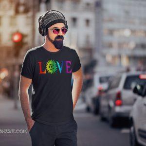 Love pride gay LGBT shirt
