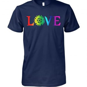 Love pride gay LGBT unisex cotton tee