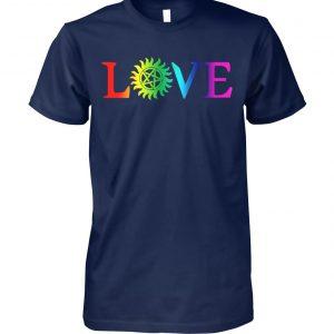 Love pride gay LGBT unisex cotton tee