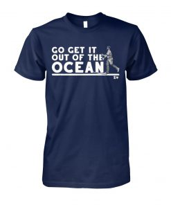 Max muncy go get it out of the ocean baseball unisex cotton tee