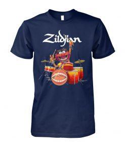 Muppets animal drummer zildjian unisex cotton tee