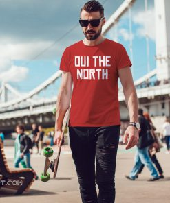 NBA finals toronto raptors oui the north shirt