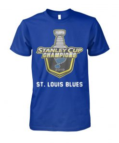 NHL st louis blues stanley cup champions 2019 unisex cotton tee