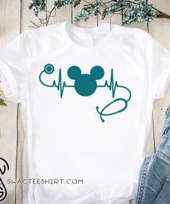 Nurse loves mickey mouse disney shirt