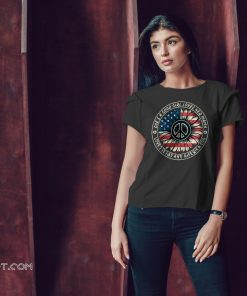 She's a good girl loves her mama love jesus and america too america flag 4th of july shirt