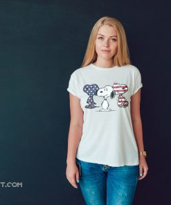 Snoopy america flag 4th of july shirt