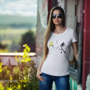 Snoopy and woodstock best friend peanuts shirt