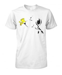 Snoopy and woodstock best friend peanuts unisex cotton tee