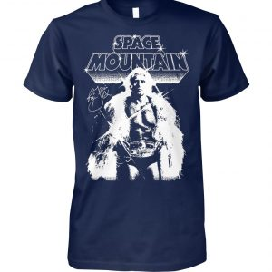Space mountain ric flair signature unisex cotton tee