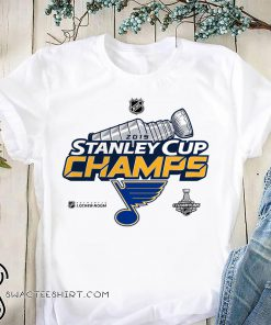 St louis blues stanley cup champions 2019 shirt